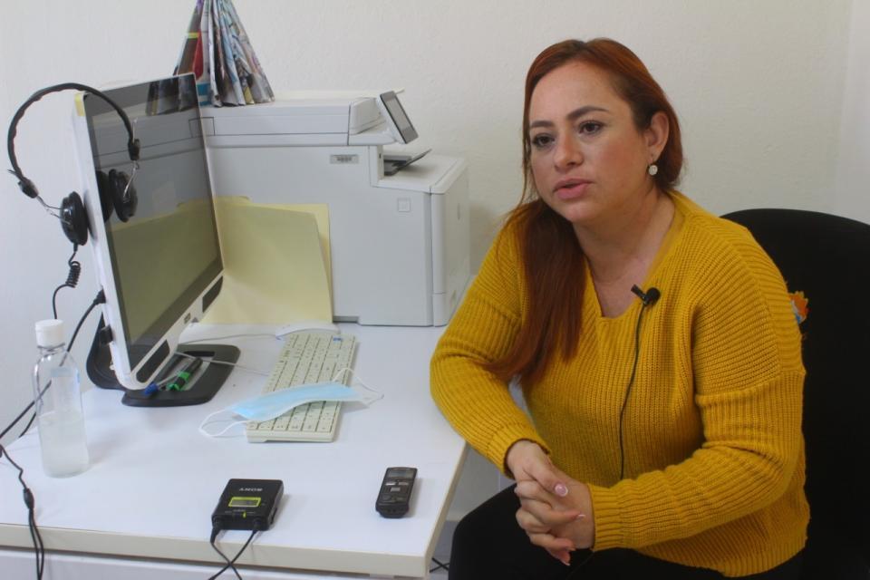 Glenda Valenzuela, coordinadora de bibliotecas
