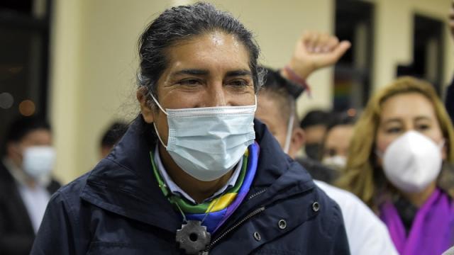Candidato indígena en Ecuador