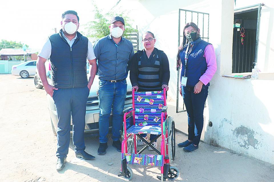 Apoya DIF Los Cabos a Casa San Juan Diego