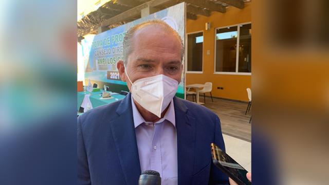 Fernando Ojeda Aguilar, titular de la Secretaría de Turismo Economía y Sustentabilidad en Baja California Sur