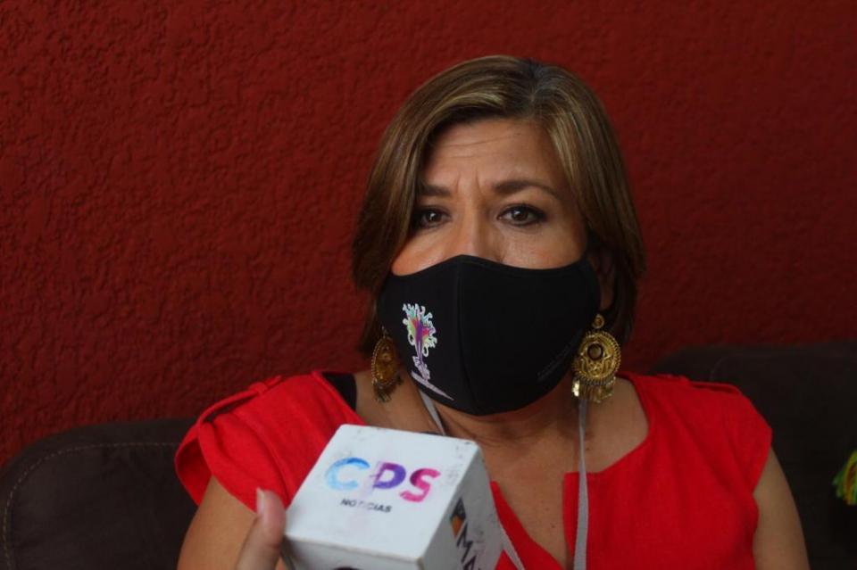 Lorena Cortés, directora del Instituto de las Mujeres
