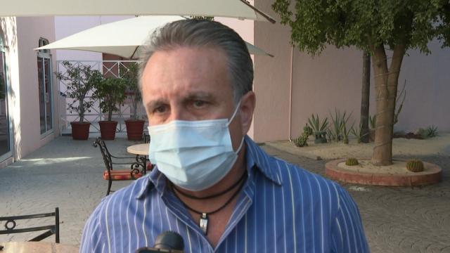Presidente del Consejo Consultivo de la Asociación de Hoteles de Los Cabos, Mauricio Salicrup