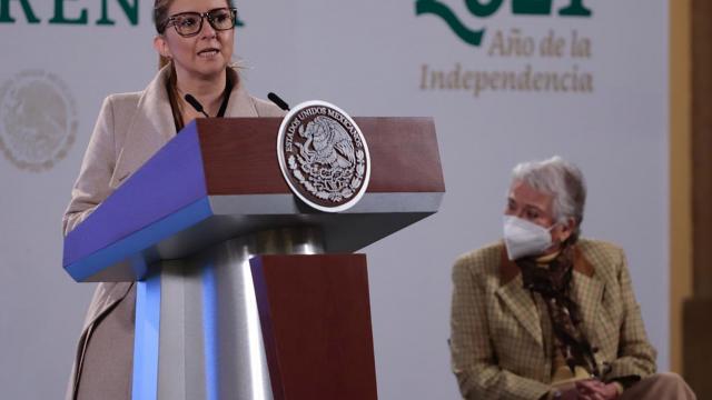 Paulina Téllez Martínez, titular de la Unidad de Apoyo al Sistema de Justicia de la Secretaría de Gobernación
