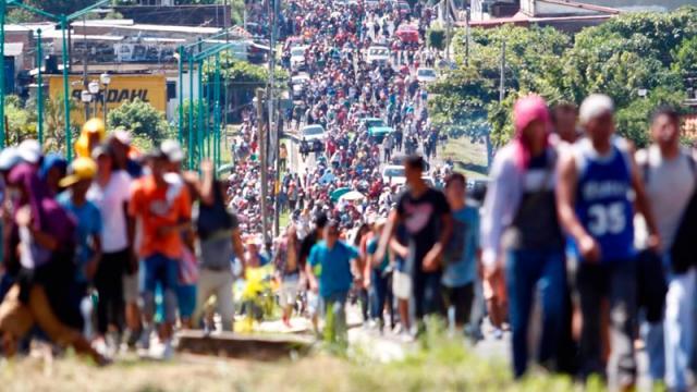 México y Guatemala lanzan operativo conjunto para frenar caravanas de migrantes