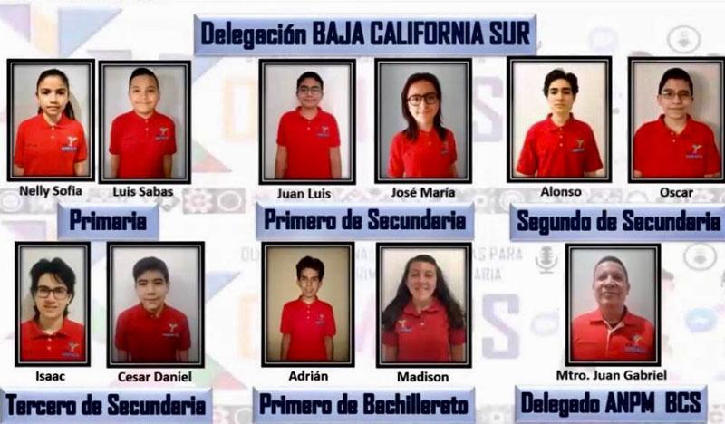 Hacen historia estudiantes de BCS en Olimpiada de Matemáticas