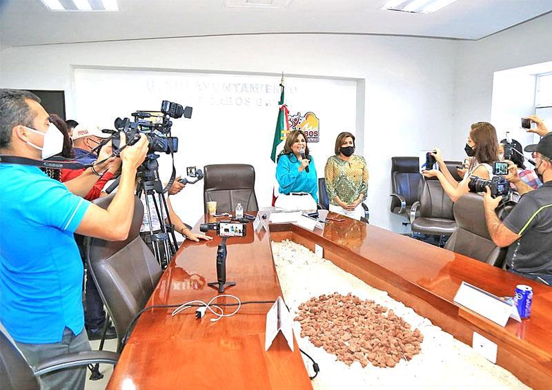 Respaldan ediles a la Alcaldesa con licencia Armida Castro Guzmán