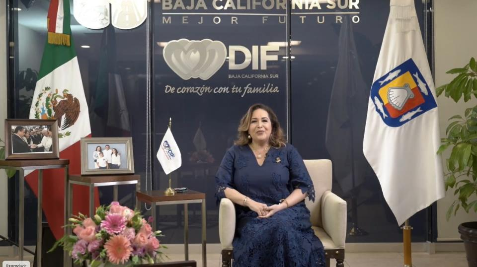 Gabriela Velázquez de Mendoza, presidenta honoraria del Sistema Estatal del DIF
