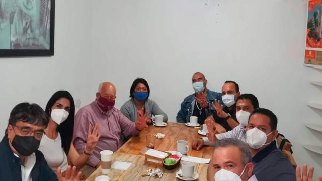 Desbandada del comité municipal del PVEM, se van a Morena-PT