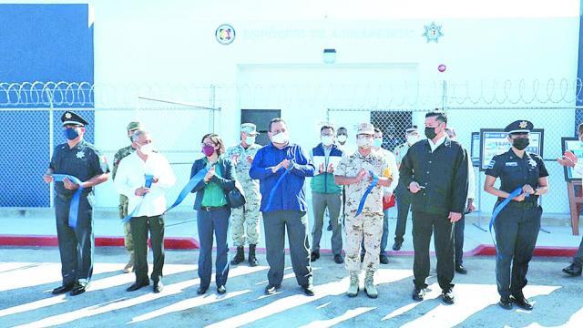Nuevas instalaciones a la Secretaría de Seguridad Pública: CMD