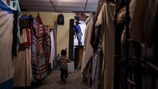 Albergue para migrantes en Cd. Juárez