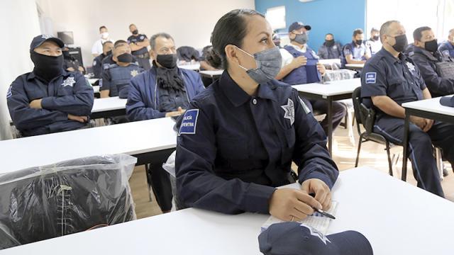 Policía capacitada para garantizar seguridad ciudadana