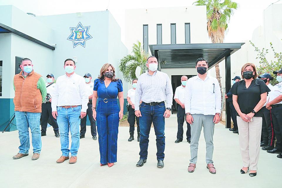 Entregan nuevas instalaciones  a la Policía de Los Cabos