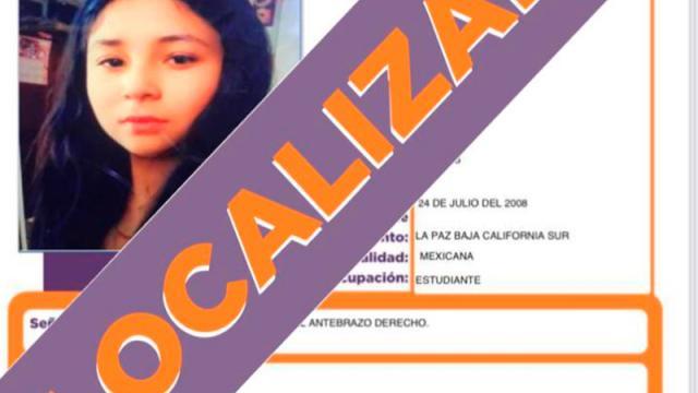 Menor de 12 años desaparecida en La Paz fue localizada