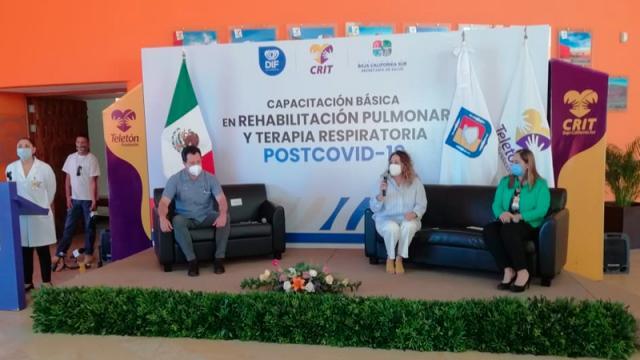 Curso sobre rehabilitación pulmonar para afectados por Covid-19