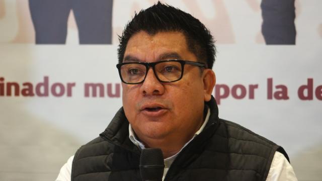 Dirigente estatal de Morena