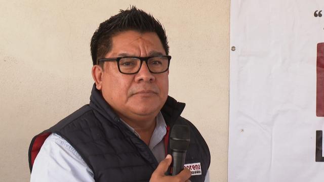 Dirigente morenista Alberto Rentería
