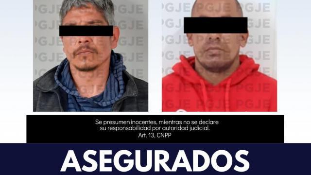Hombres asegurados con posesión de drogas