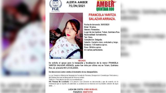 Hija de mujer asesinada en Tulum