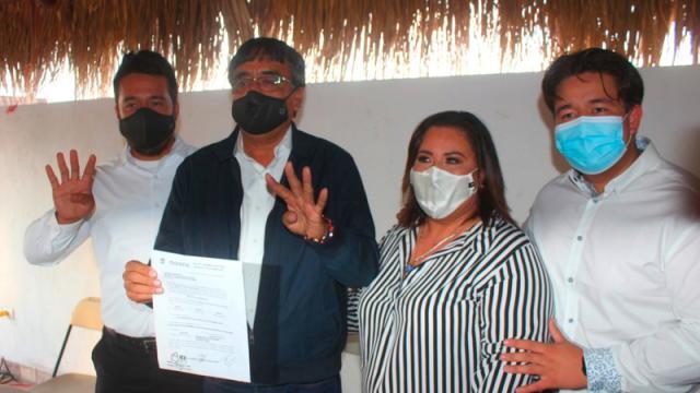 """""""Somos el mejor proyecto"""": Óscar Leggs, candidato de PT-Morena"""