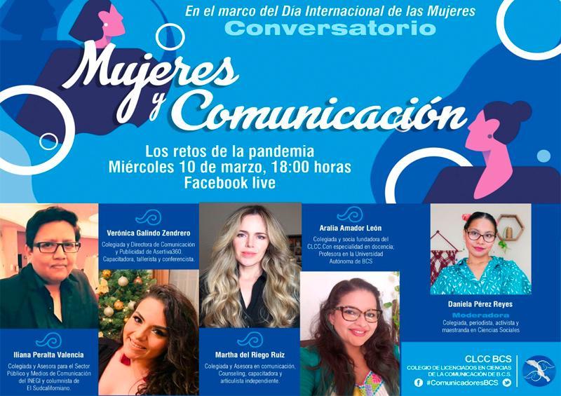 Colegio de comunicólogos realizará conversatorio sobre la Mujer