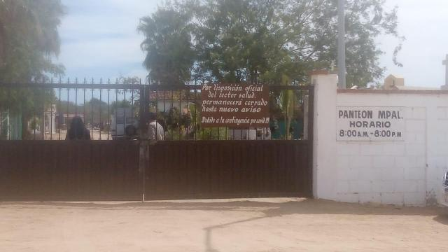 Panteón de CSL permanece cerrado