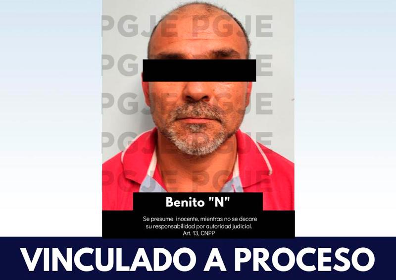 """PGJE vincula a proceso a Benito """"N"""" por secuestro"""