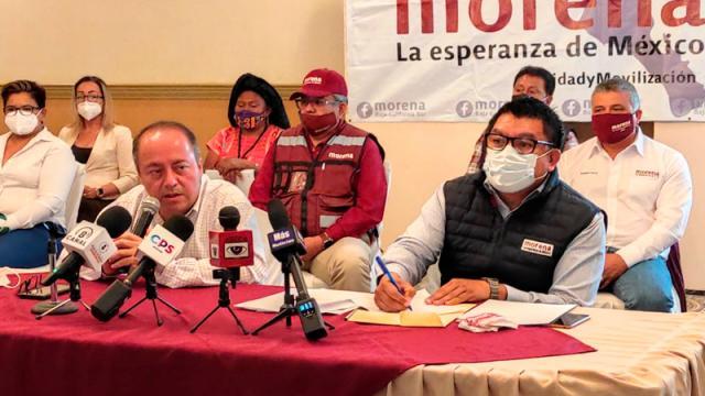 Morena presenta candidatos a alcaldías y diputaciones