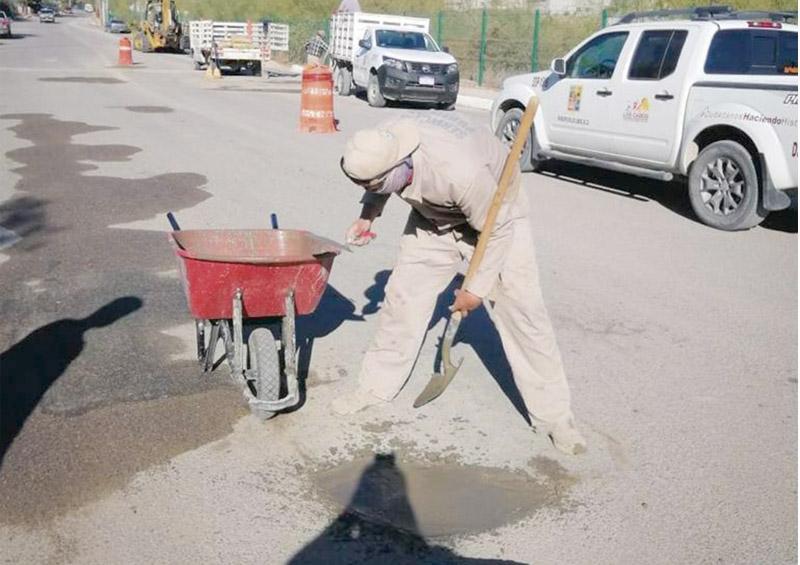 Habitantes de La Ribera transitan por vialidades seguras