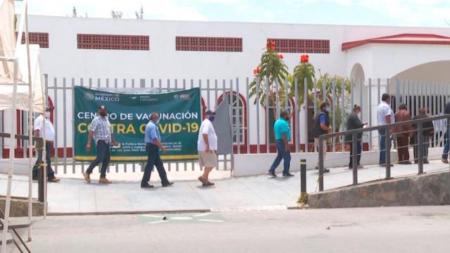 Así dio inicio la jornada de vacunación de segundas dosis en Todos Santos
