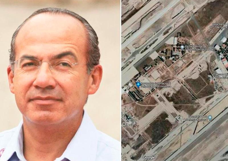 """Google Maps le pone al aeropuerto de Santa Lucía """"Felipe Calderón"""""""
