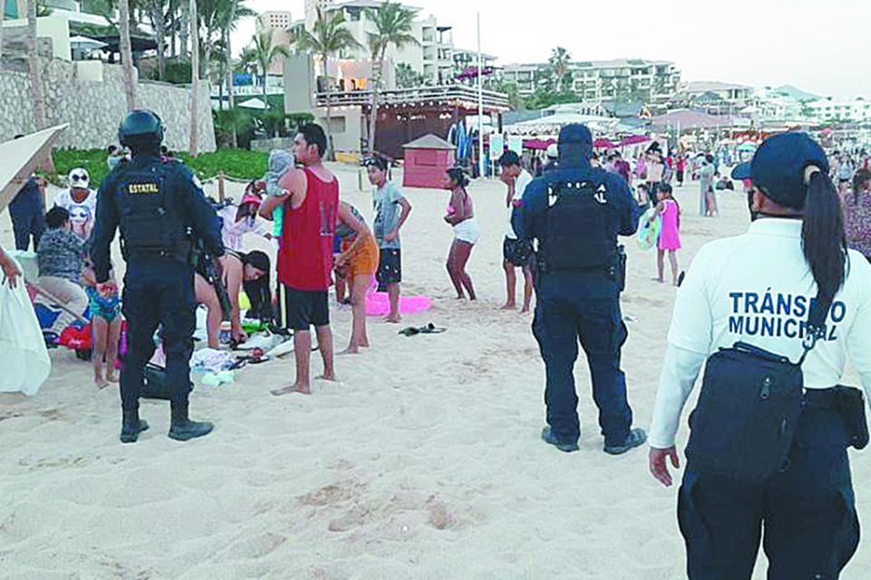Continúan filtros de seguridad en salud: Gobierno de Los Cabos