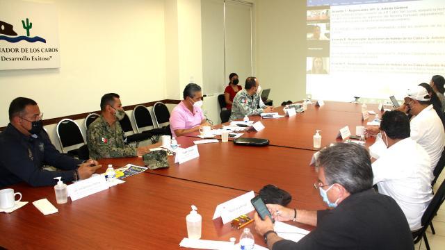 Mesa de Seguridad de Los Cabos