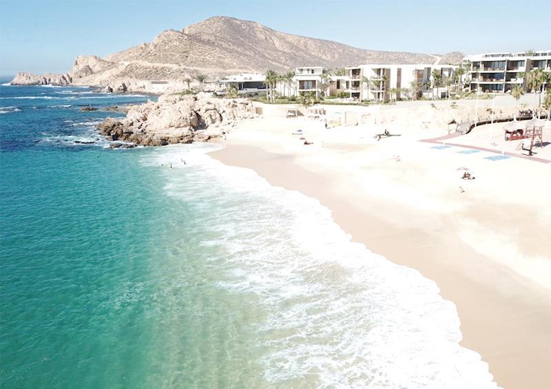 Continúan filtros de higiene en accesos a playas de Los Cabos
