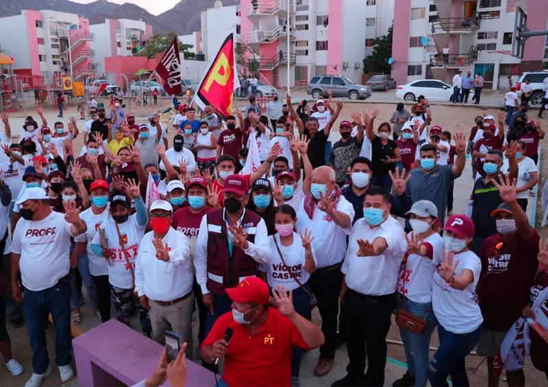 Aumentará 500 puntos de video vigilancia en la entidad: Víctor Castro