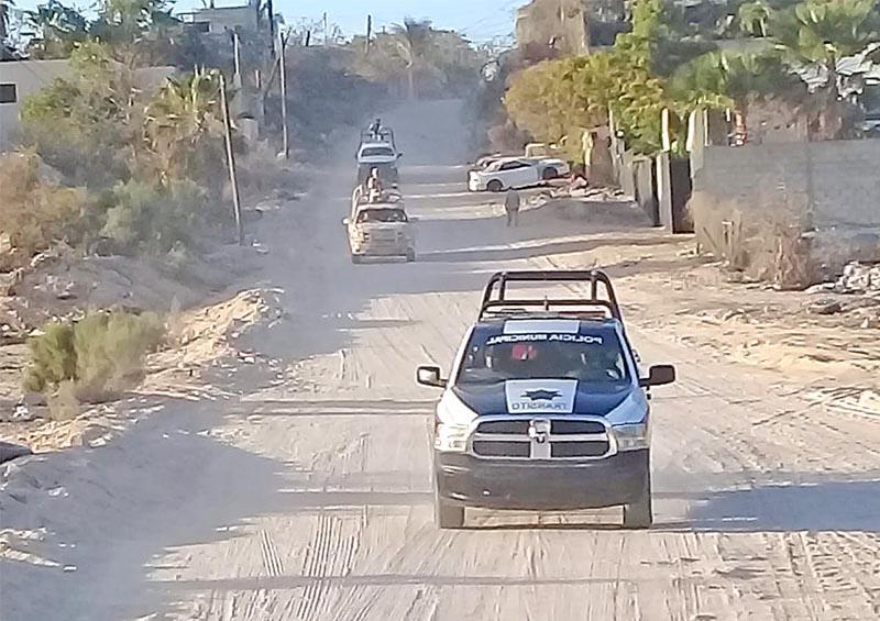 Continúan recorridos de vigilancia en todo el municipio