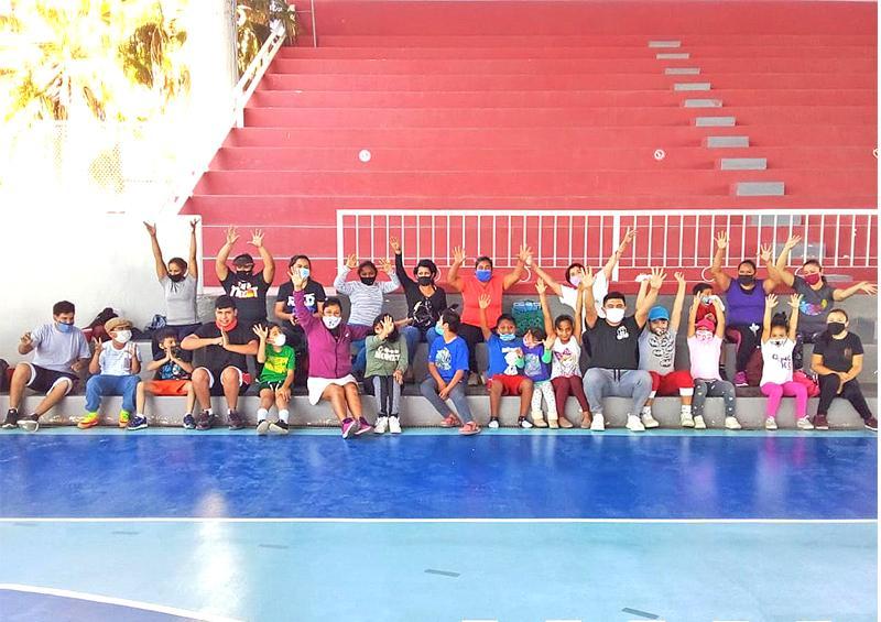 Realiza IMDIS Los Cabos actividades deportivas