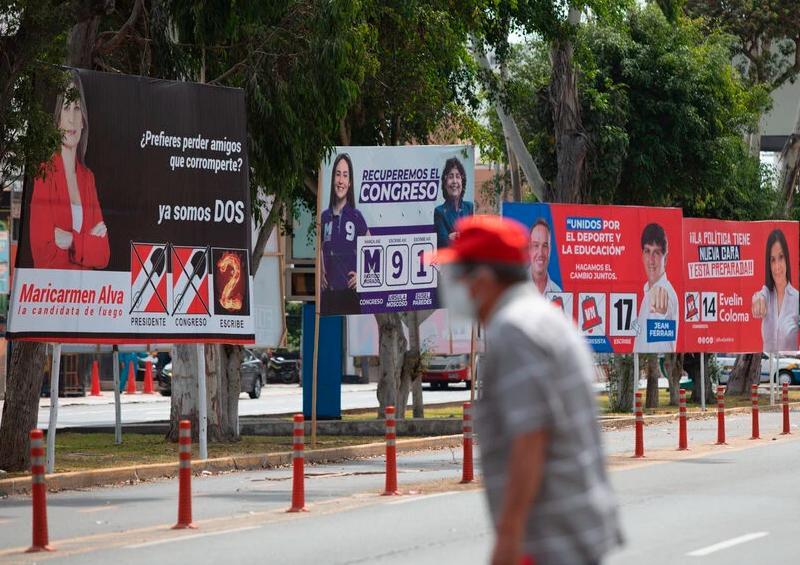 Perú elige presidente entre 18 candidatos y ningún favorito