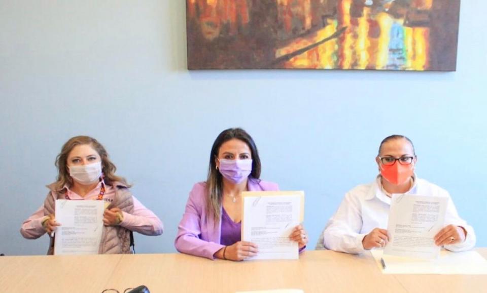 Candidatas a gobernar Zacatecas presentan queja