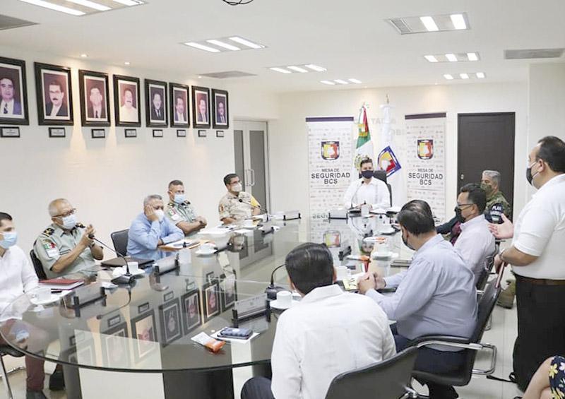 Coordinan acciones para elecciones pacíficas en BCS