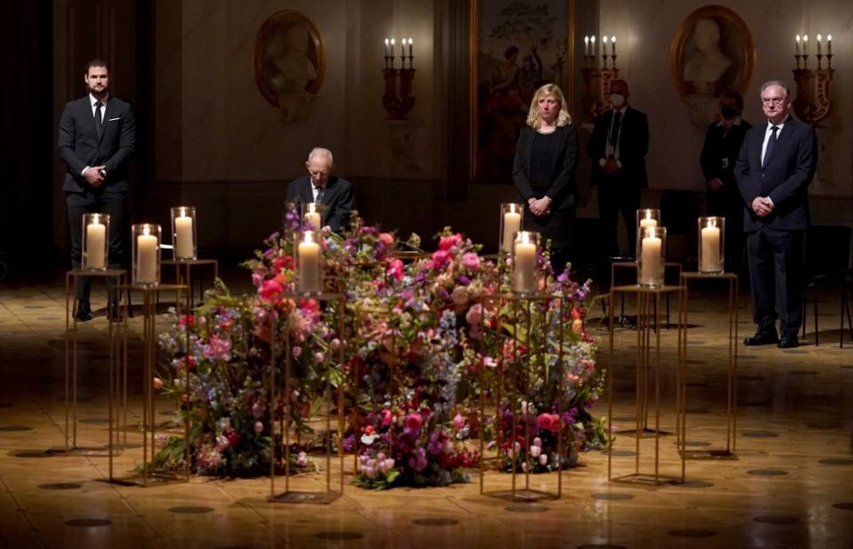 Alemania hace homenaje a muertos por Covid