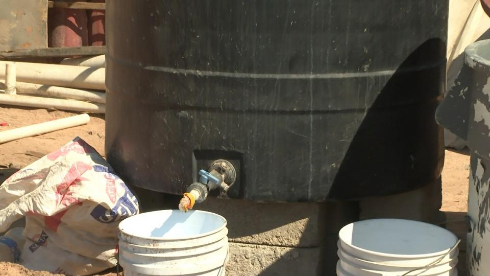 Desabasto de agua en Chulavista