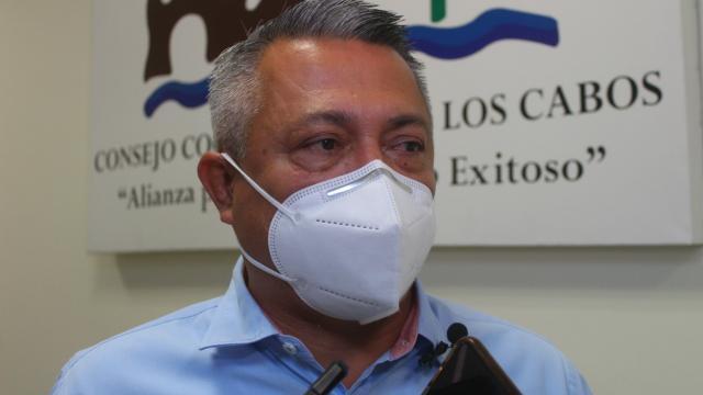 Germán Wong, secretario de Seguridad en BCS