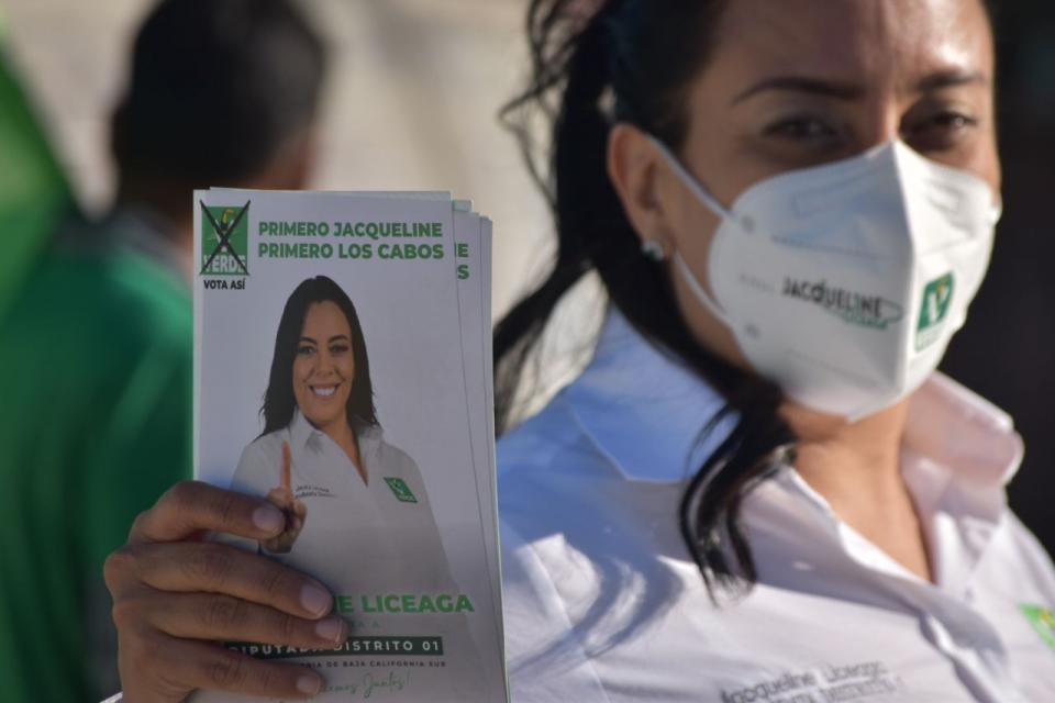 Jacqueline Liceaga candidata del PVEM