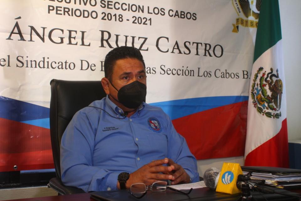 Secretario general del Sindicato de Burócratas sección Los Cabos