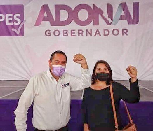 Candidata a la alcaldía de Los Cabos, por el partido PES