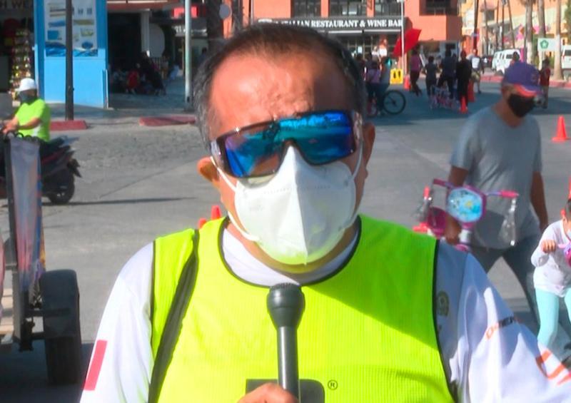 Ciclovía cumple con protocolos para el sano esparcimiento en CSL