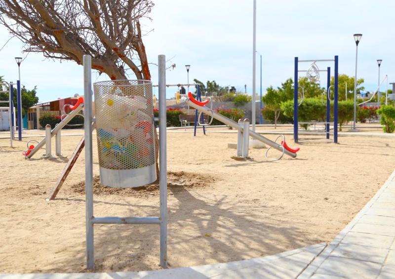 Continúan protocolos de prevención en parques públicos