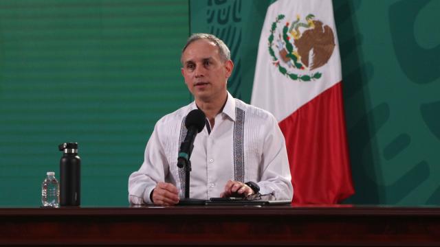 Casos acumulados de covid-19 en México