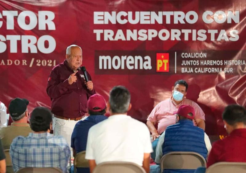 Lograremos Ley de Movilidad estatal sin atropellar derechos: Víctor Castro