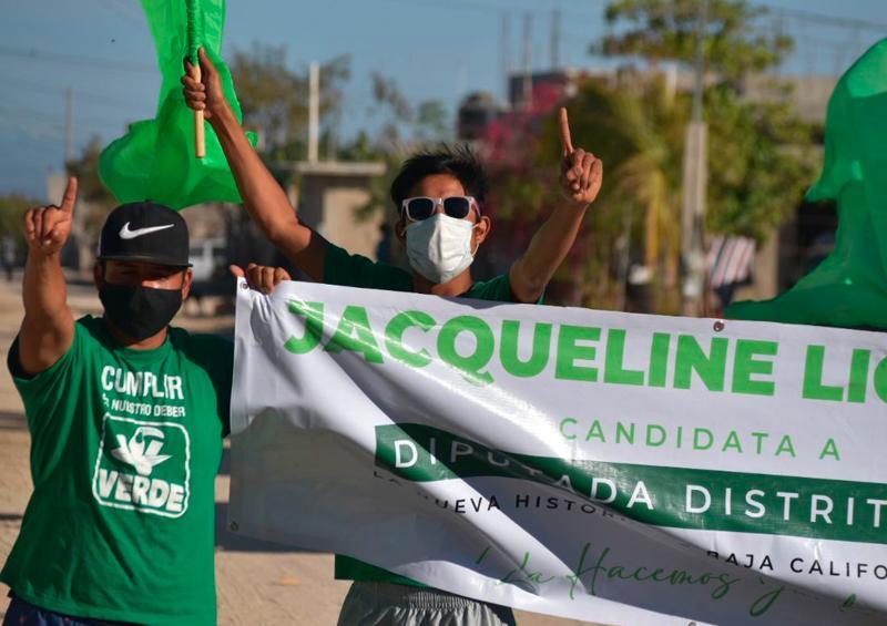 """La colonia Gastelum se suma a la """"Ola Verde"""" del Distrito I con Jacqueline Liceaga"""